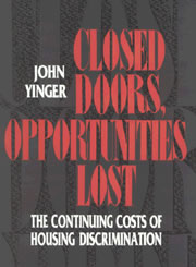 Book cover: Closed Doors, Opportunities Lost
